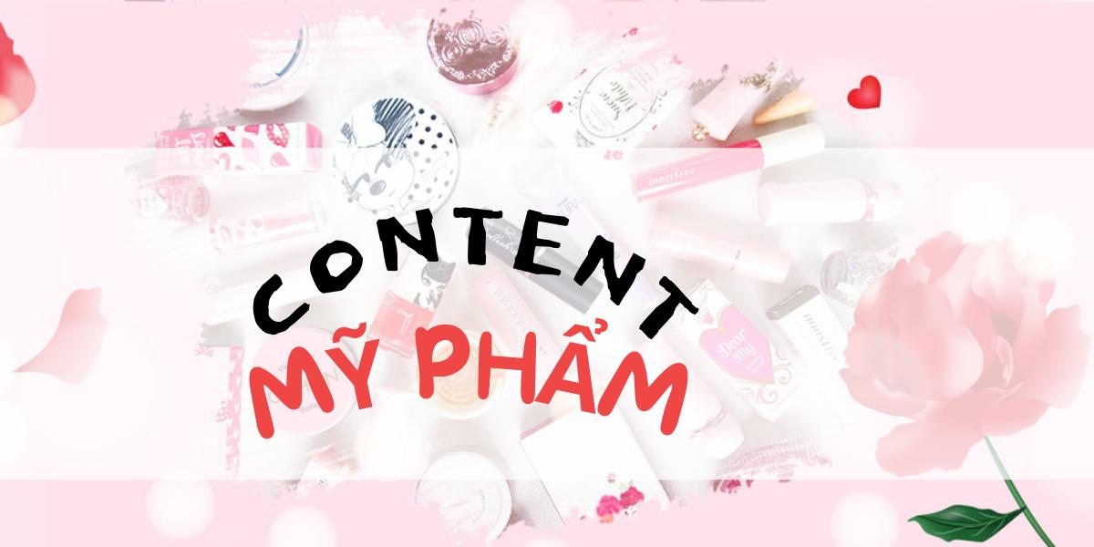 """Bí quyết viết content """"siêu chất"""" cho ngành mỹ phẩm năm 2021"""